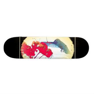 Het Dier van het Wild van de Vogel van de kolibrie Skate Deck