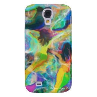 """Het """"digitale Art. van de Meermin van Sirenes"""" Galaxy S4 Hoesje"""