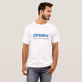 Het digitale contante geld van het streepje t shirt