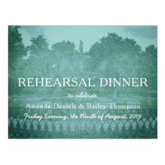 Het Diner van de Repetitie van de Savanne van de Briefkaart