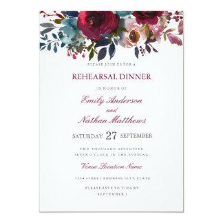 Het Diner van de Repetitie van het Huwelijk van de Kaart