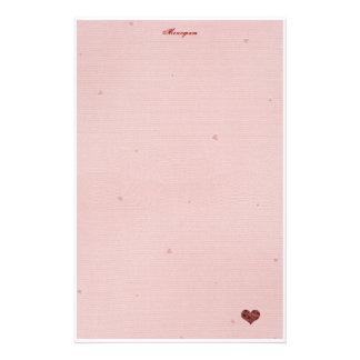 Het Document van de Brief van de liefde! Briefpapier