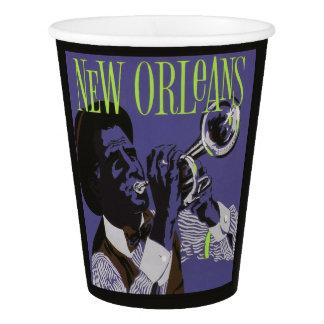 Het document van de Muziek van New Orleans koppen