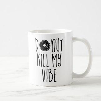 Het Doden van de doughnut Mijn Vibe Koffiemok