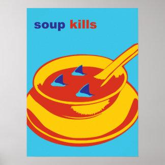 Het Doden van de soep Poster