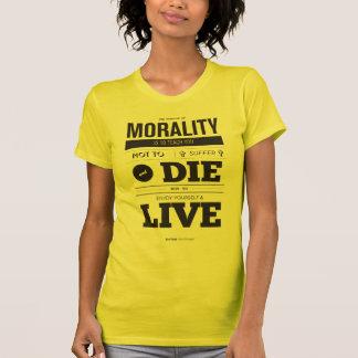 Het doel van het t-shirt van de Ethiek