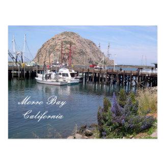 Het Dok van de Visserij van de Baai van Morro, Briefkaart