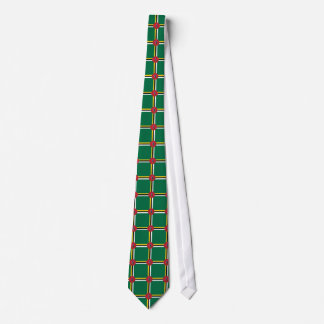 Het Dominicaanse stropdas van het vlagpatroon