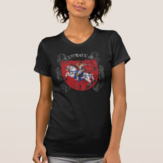 Het Donkere Overhemd van de Vrouwen van Litouwen T Shirt
