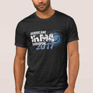 Het Donkere Overhemd van Irma Survivor Florida T Shirt