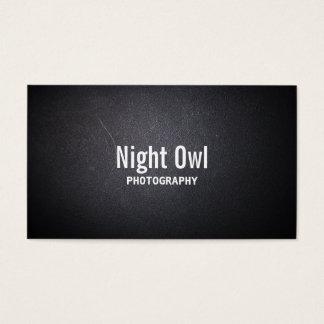 Het donkere Visitekaartje van de Fotograaf van de Visitekaartjes
