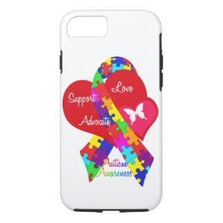 Het doorweven Lint van het Autisme iPhone 8/7 Hoesje