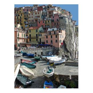 Het Dorp Italië Cinque Terre van Riomaggiore Briefkaart