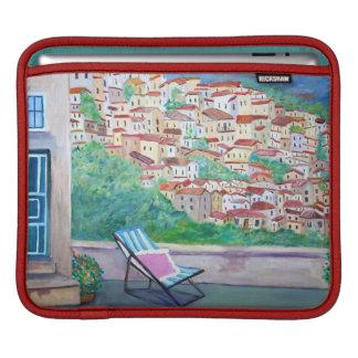 Het dorp van Apricale - iPad vul Horizontaal op Sleeve Voor iPad