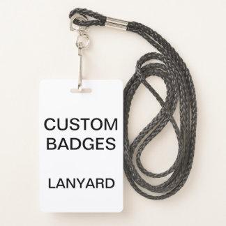 Het douane Gepersonaliseerde KENTEKEN van het Badge