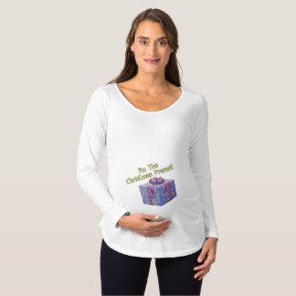 Het dragen van de Gift Zwangerschapskleding
