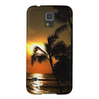 Het dramatische Strand Hawaï van de Palm Galaxy S5 Hoesje