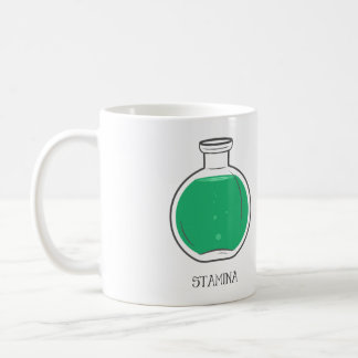 Het Drankje van het uithoudingsvermogen: +100 Koffiemok