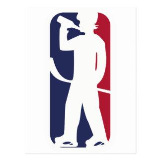 Het Drink van de Speler van het hockey Briefkaart