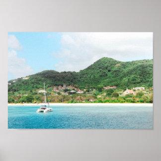 Het Dromen van Antigua Poster