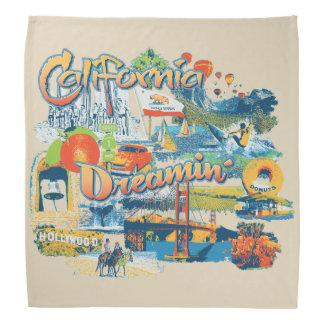 Het Dromen van Californië Bandana
