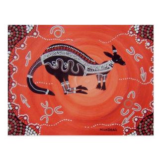 Het Dromen van de kangoeroe Briefkaart