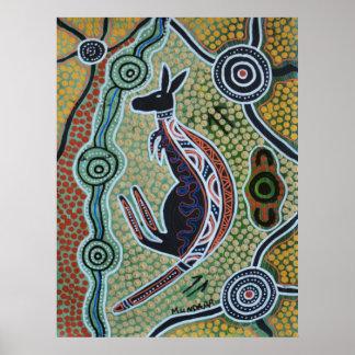 Het Dromen van de kangoeroe Poster