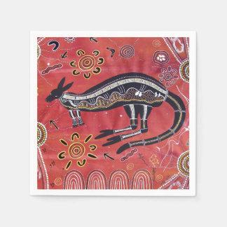 Het Dromen van de kangoeroe Servetten Papieren Servet