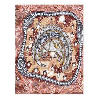 Het Dromen van Echidna Briefkaart