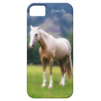 Het dromerige Zachte Geschilderde Paard Palomino Barely There iPhone 5 Hoesje