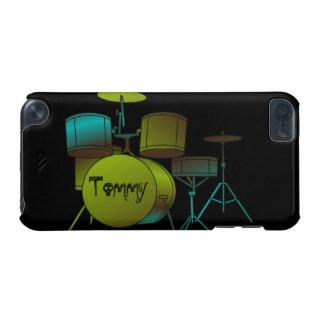 Het Drumset Gepersonaliseerde iPod Hoesje van