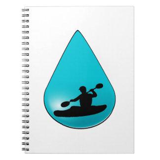 Het druppeltje notitieboek
