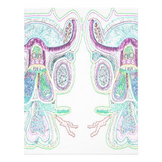 Het dubbele Blauw van de Stier Fullcolor Folder