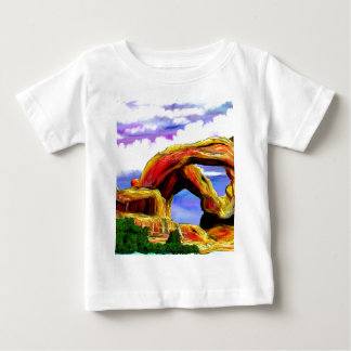 Het dubbele Schilderen van het Landschap van de Baby T Shirts