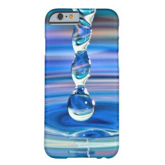 Het duidelijke Blauwe Stromen van de Dalingen van Barely There iPhone 6 Hoesje