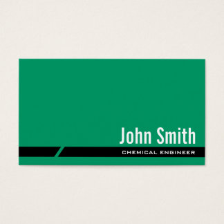 Het duidelijke Groene Chemische Visitekaartje van Visitekaartjes