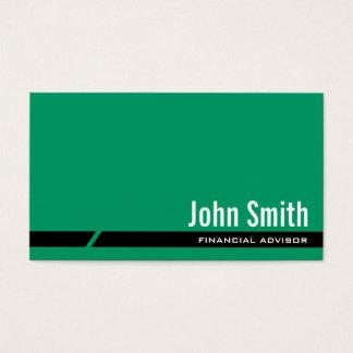 Het duidelijke Groene Financiële Visitekaartje van