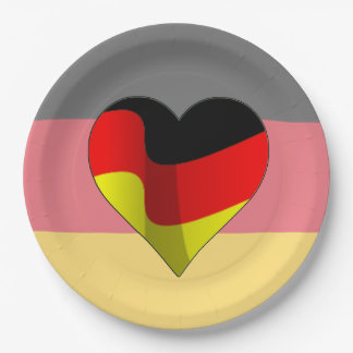Het Duits bij de Borden van het Document van de Papieren Bordje
