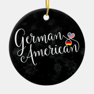 Het Duitse Amerikaanse Ornament van de Kerstboom