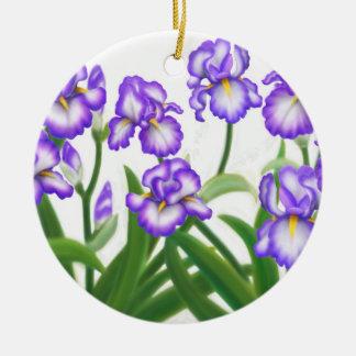 Het Duitse Gebaarde Ornament van de Iris