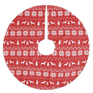 Het Duitse Kortharige Patroon van Kerstmis van Kerstboom Rok