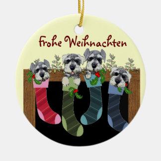 Het Duitse Vrolijke Ornament van Kerstmis