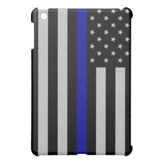 Het dunne MiniHoesje van de Vlag van Blue Line iPad Mini Cases