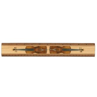 Het Duo van de Viool van Stradivari Esdoorn Liniaal