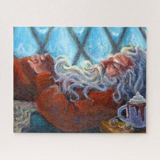 """""""Het Dutten van de kerstman"""" Puzzel Legpuzzel"""