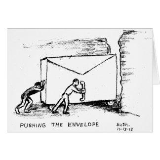 Het duwen van de Envelop -- De Kaart van de nota