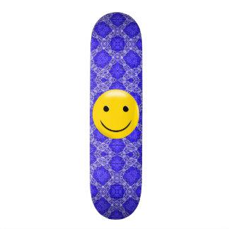 Het DwarsDek van Billy Badass Signature Smiley Persoonlijk Skateboard