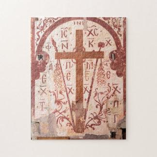 Het DwarsKunstwerk van Christain Legpuzzel