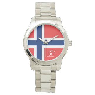 Het DwarsLand Noorwegen van het team Polshorloges