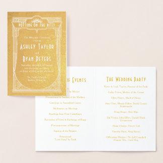 Het echte Gouden Programma van het Huwelijk van